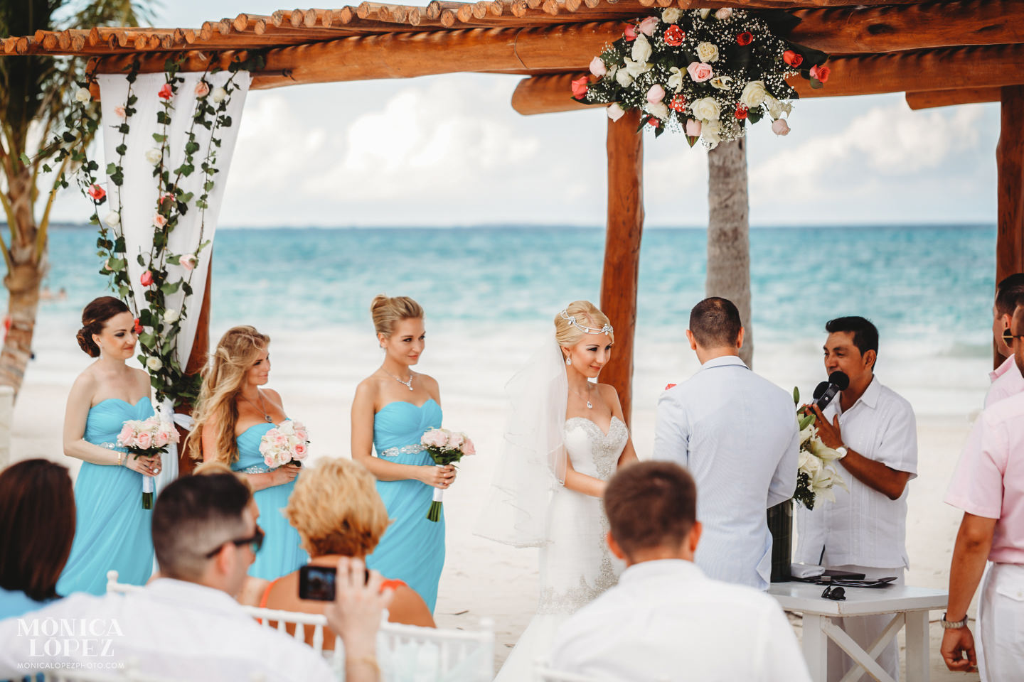 Secrets Maroma Wedding by Monica Lopez Photography